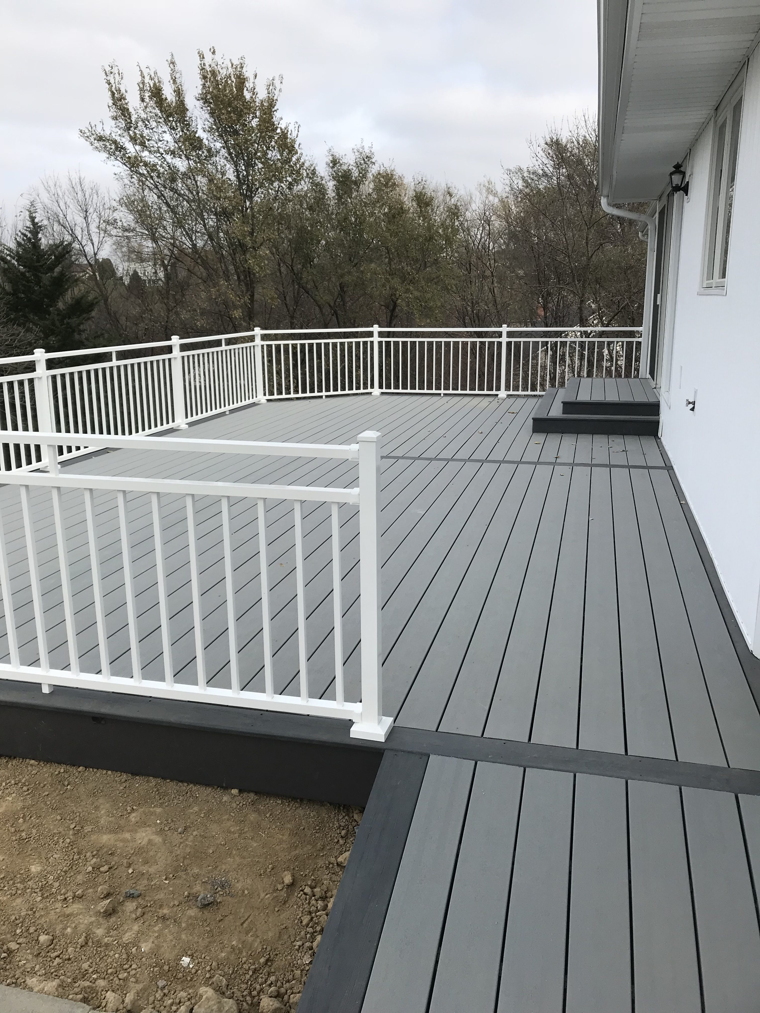 Grey Deck Remodeling Dreams Construction